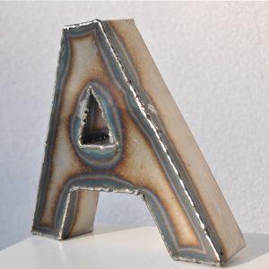 """Feinrost Metallbuchstabe """"A"""""""