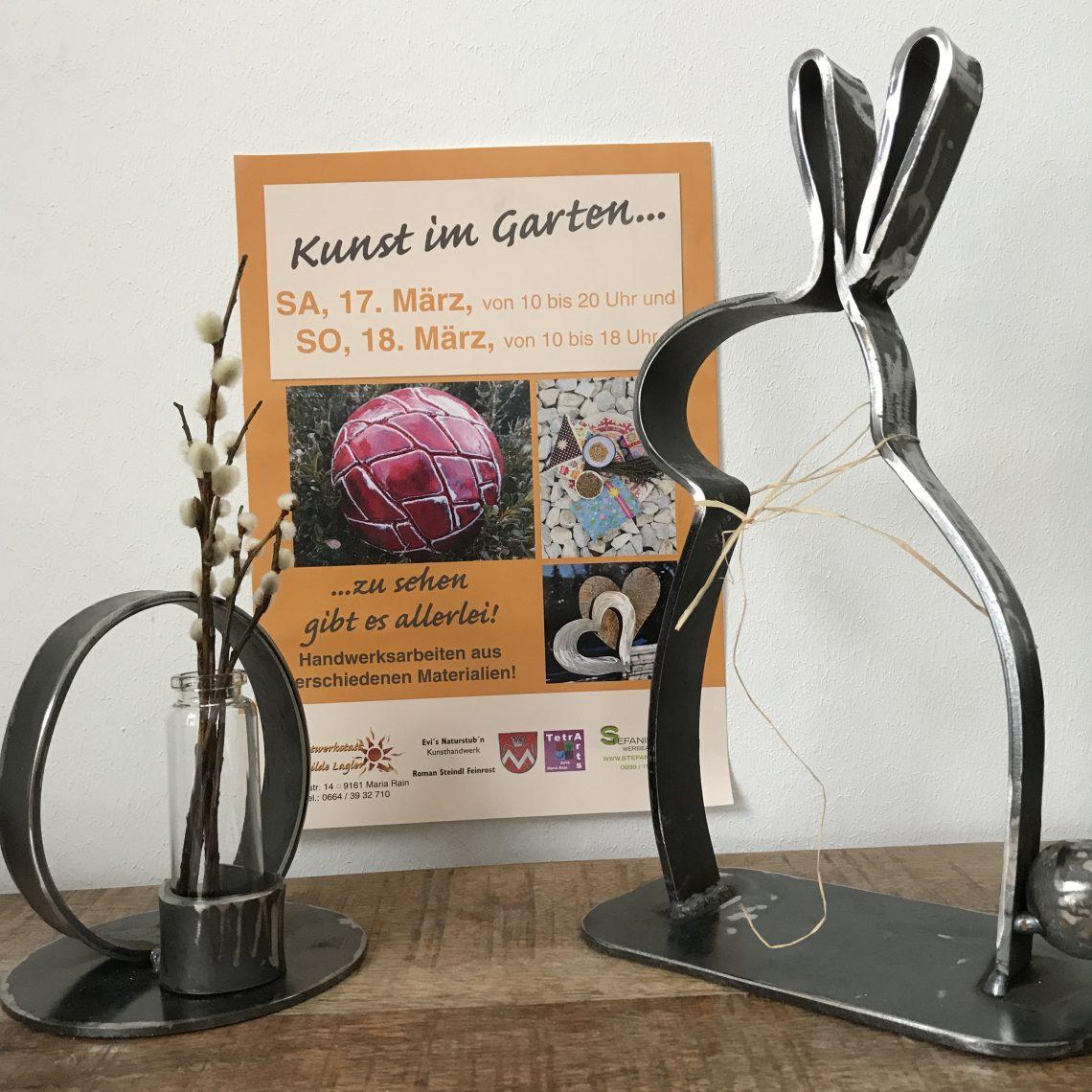 Ostermarkt Kunst im Garten mit Feinrost