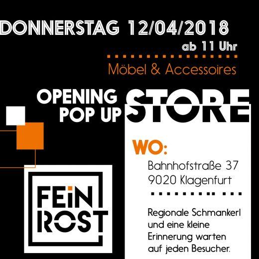Popupstore Eröffnung Feinrost 2018 FeinrostLADEN